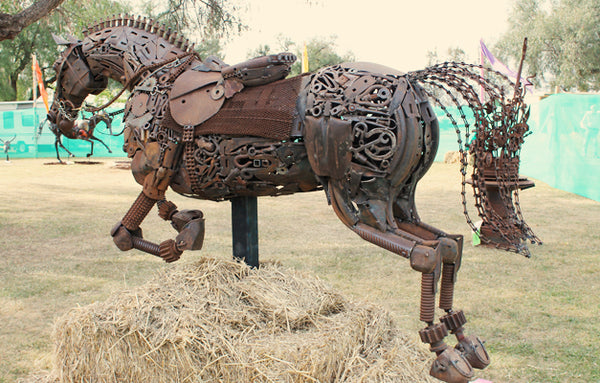 National Farm Art Sculpture, Lockhart Spirit Of The Land