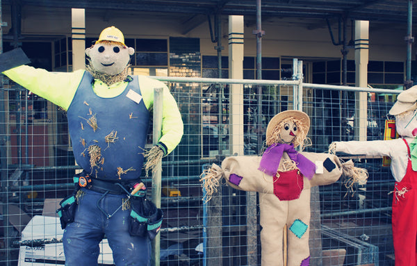 Scarecrow competition entries, Coolamon NSW