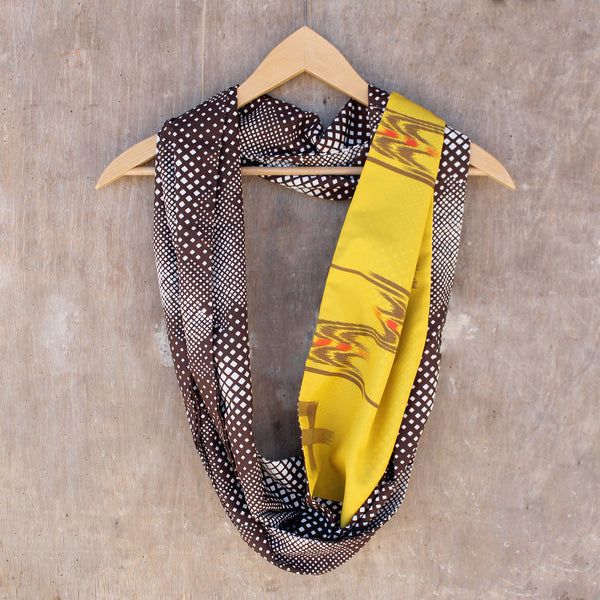 Infinity Scarf (long) - Coreopsis