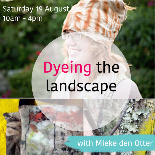 Dyeing The Landscape