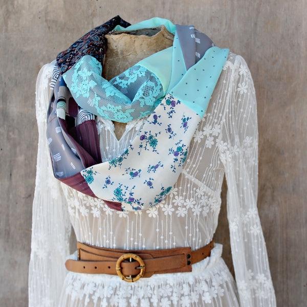 Infinity Scarf  - Storm At Sea