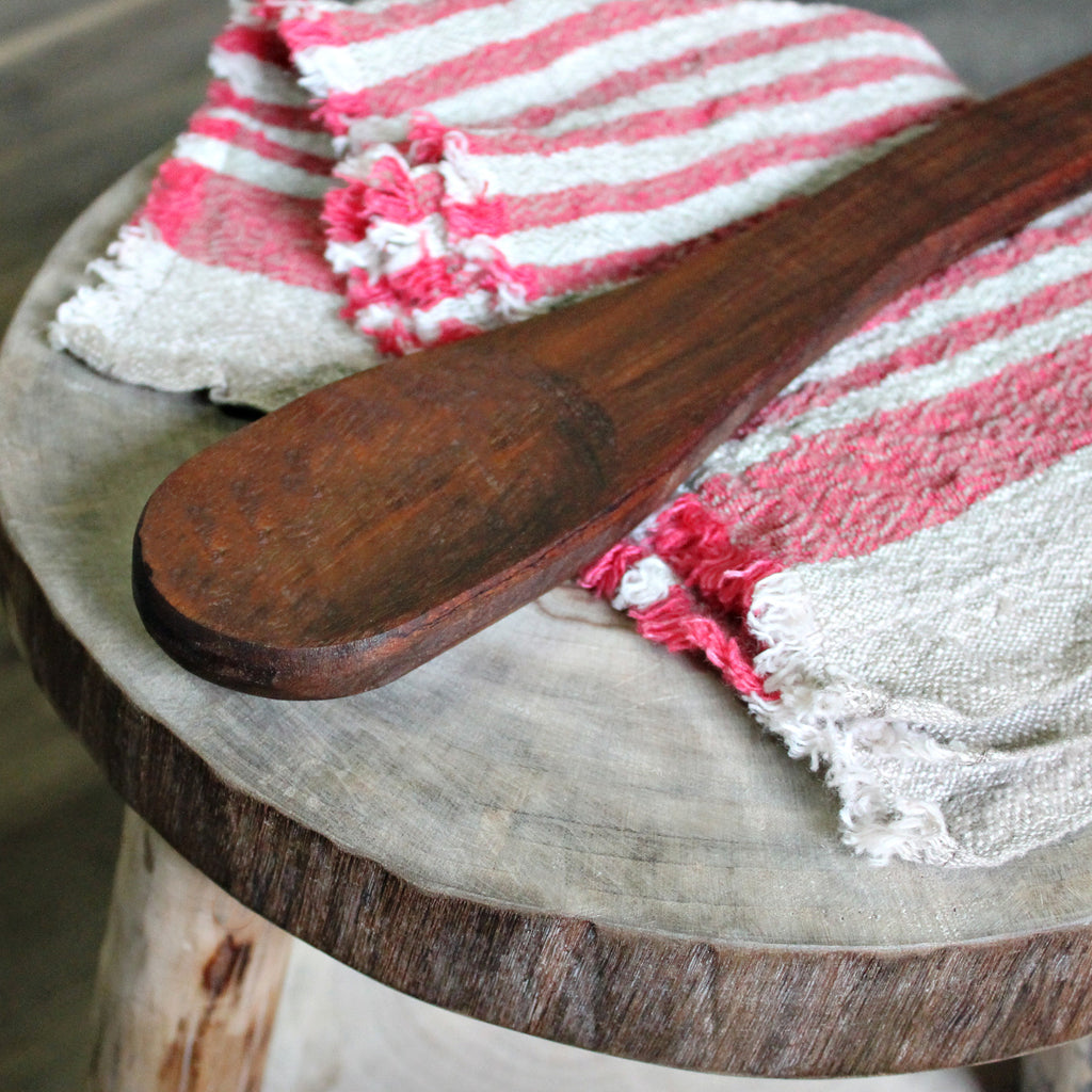 Sally Wattle Large Handcrafted Wooden Spoon