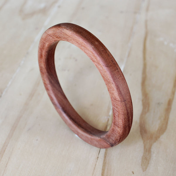 Wood Bangle (Blossom Cut)