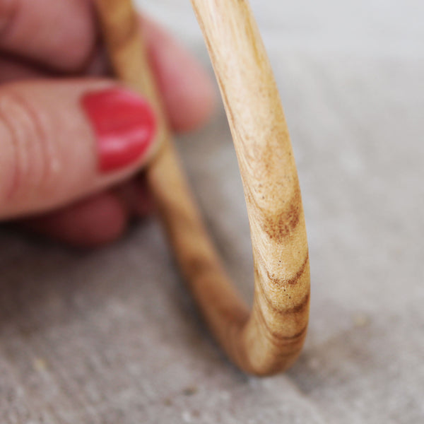 Wood Bangle (May Cut)