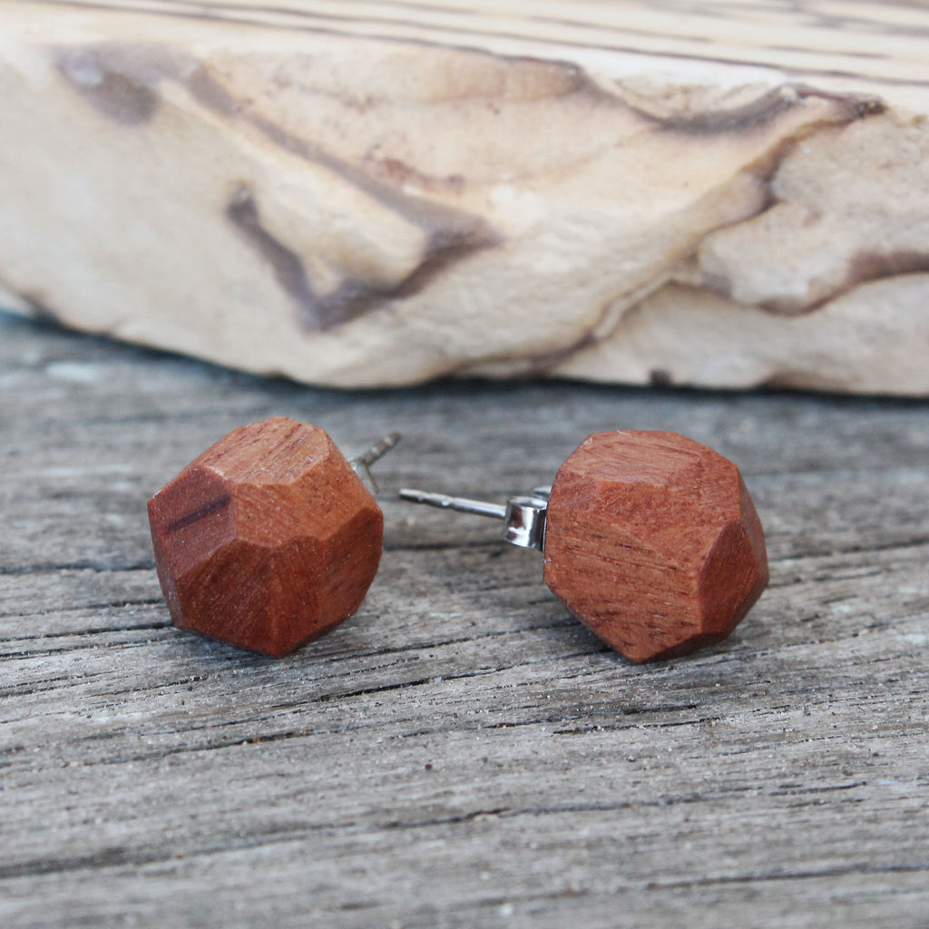 Harvest Earring (Australian Iron Bark) Small