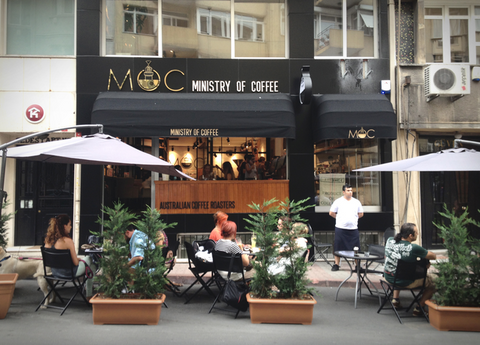 ministry of coffee Istanbul, turkey