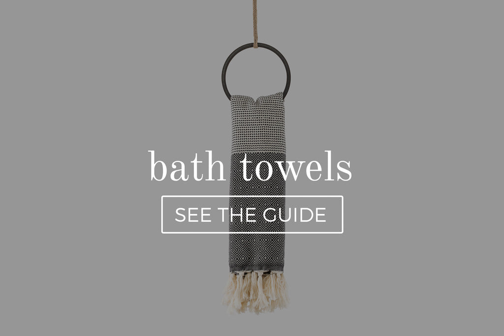 bath towel guide