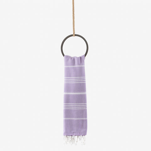turkish beach towel lilac