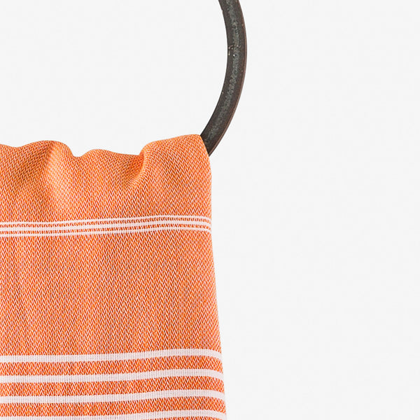 turkish towels beach orange