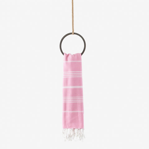 turkish beach towel pink