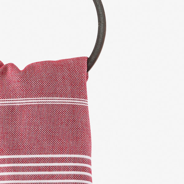 turkish towel beach red
