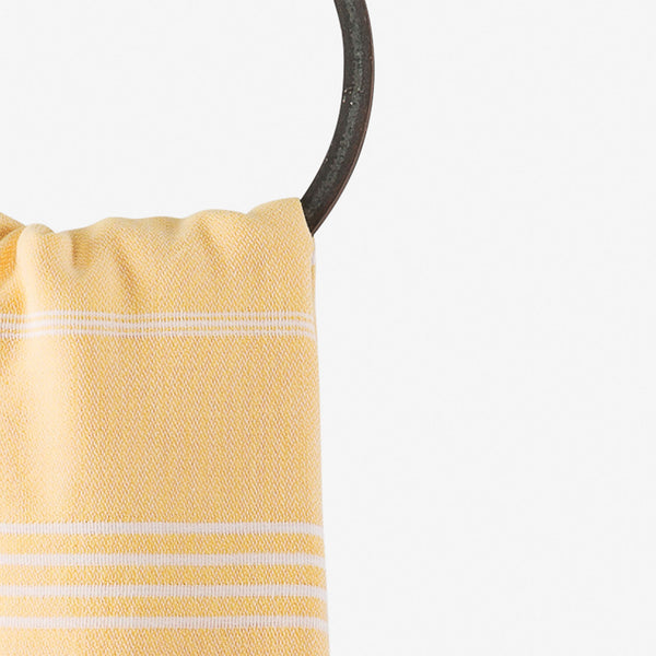 turkish towel beach yellow