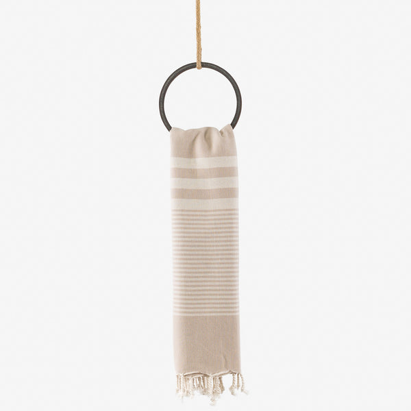 turkish towel coastal beige