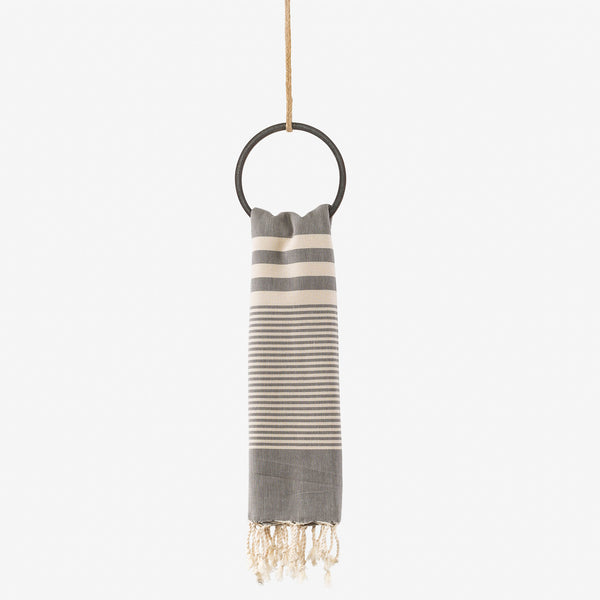 turkish towel coastal slate