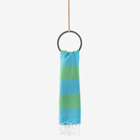 turkish towel nautical turquoise & green