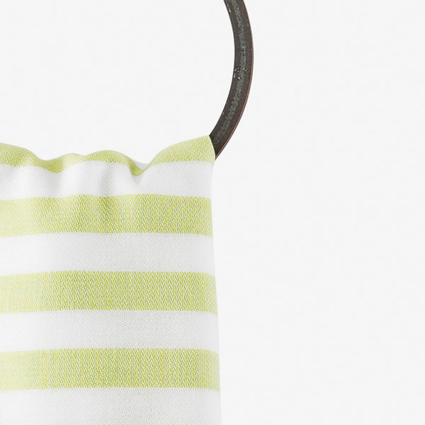 turkish towel summer brights turquoise lime