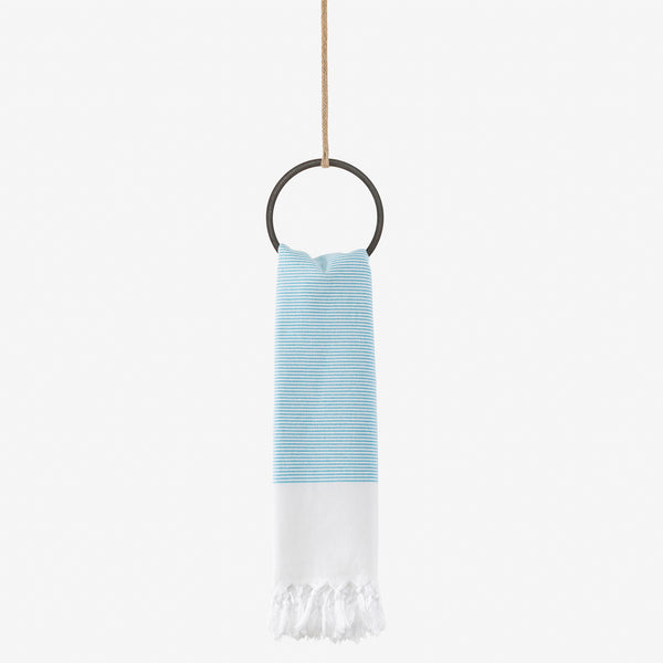 turkish towel meditteranean turquoise