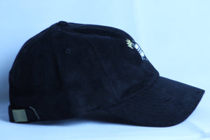 BLACK SUEDE HAT