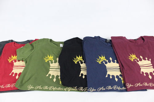 WOMENS CROWN T-SHIRTS