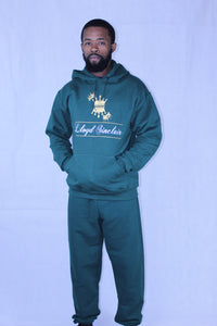 UNISEX CROWN FOREST GREEN SWEATSUIT