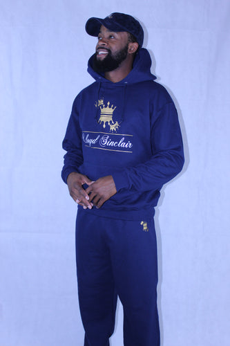 UNISEX CROWN NAVY BLUE SWEATSUIT