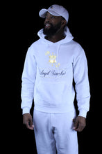 Load image into Gallery viewer, UNISEX CROWN WHITE SWEATSUIT