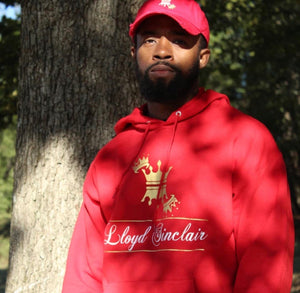 UNISEX RED SWEATSUIT