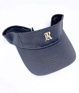 Graphite Grey & Gold Visor