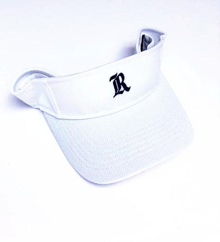 White & Navy Visor