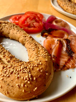 Jerusalem Bagels with Ungapatchke Challah® and Za'atar My World®