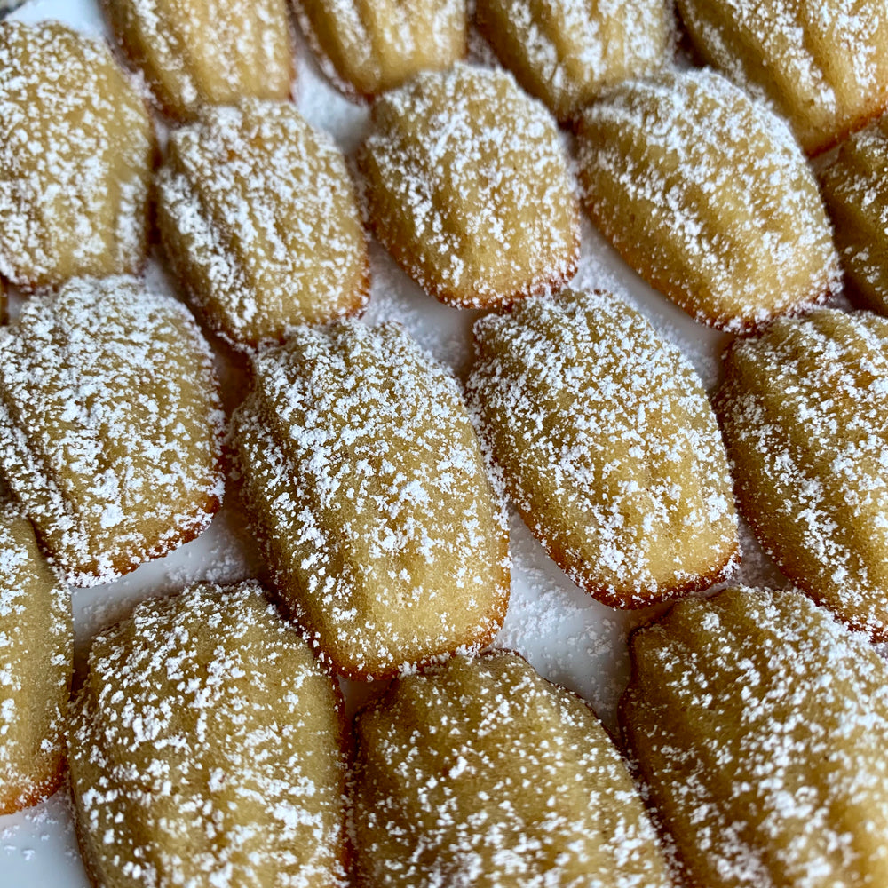 Apples and Honey Madeleines with CINNAMON SHTIK®
