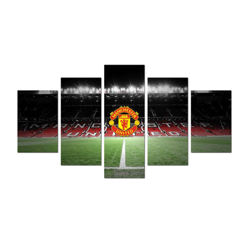 Man United Old Trafford Canvas Wall Art