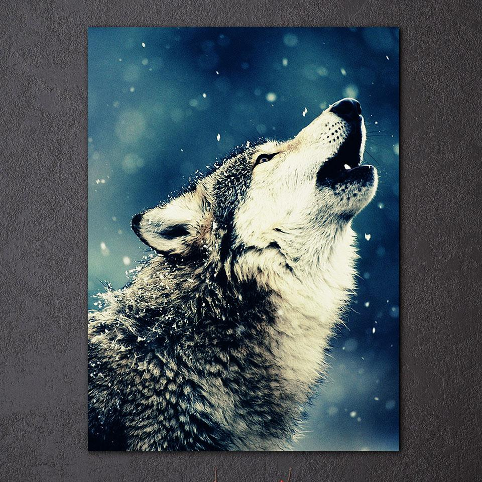 Wolf Howl Wall Art