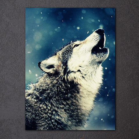 Image of Wolf Howl Wall Art