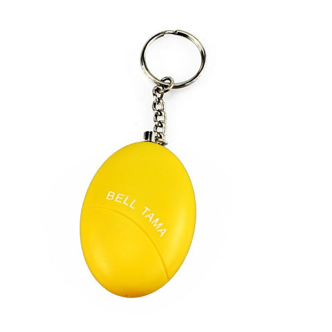 Women's defense alarm keychain