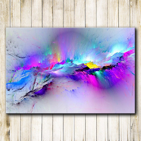 Image of Clouds Of Light Canvas Wall Art **BEST SELLER**
