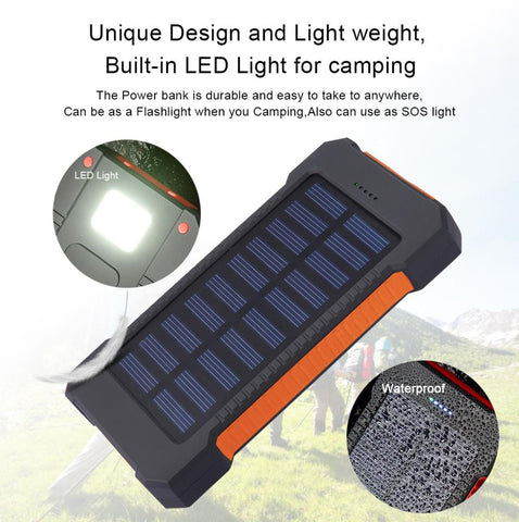 Image of Solar powered power bank