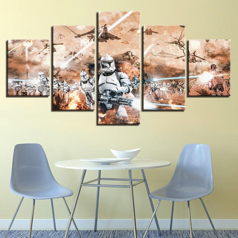 Image of Star Wars Movie Stormtrooper Canvas Wall Art