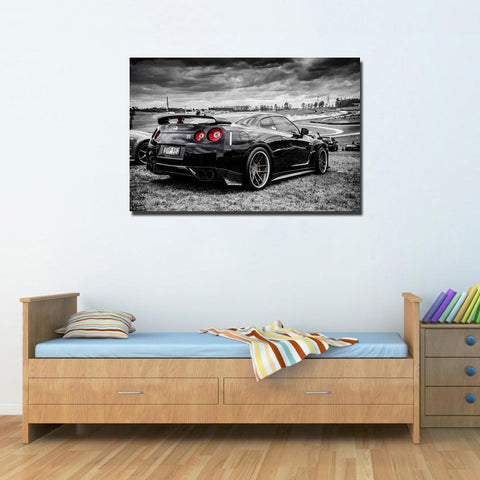 Nissan GTR Super Car Wall Art