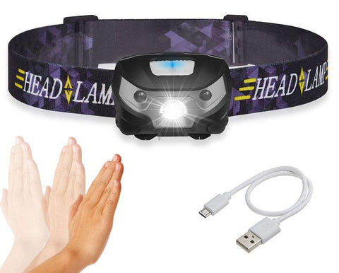 USB Rechargeable Headlamp