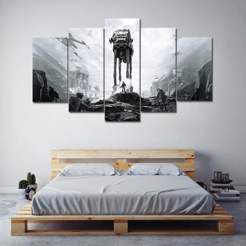 Image of Star Wars Battlefront Movie Canvas Wall Art