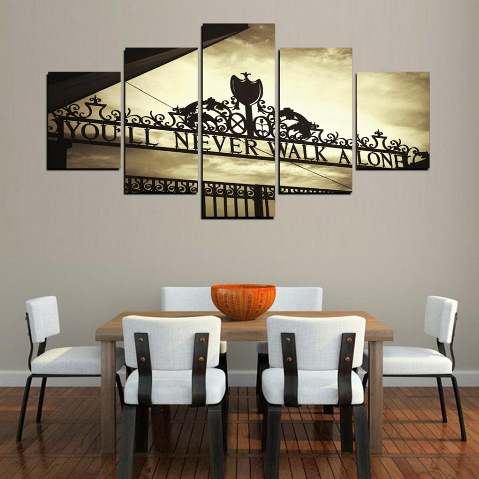 You'll Never Walk Alone Canvas Wall Art
