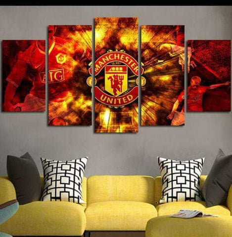 Manchester United Canvas Wall Art