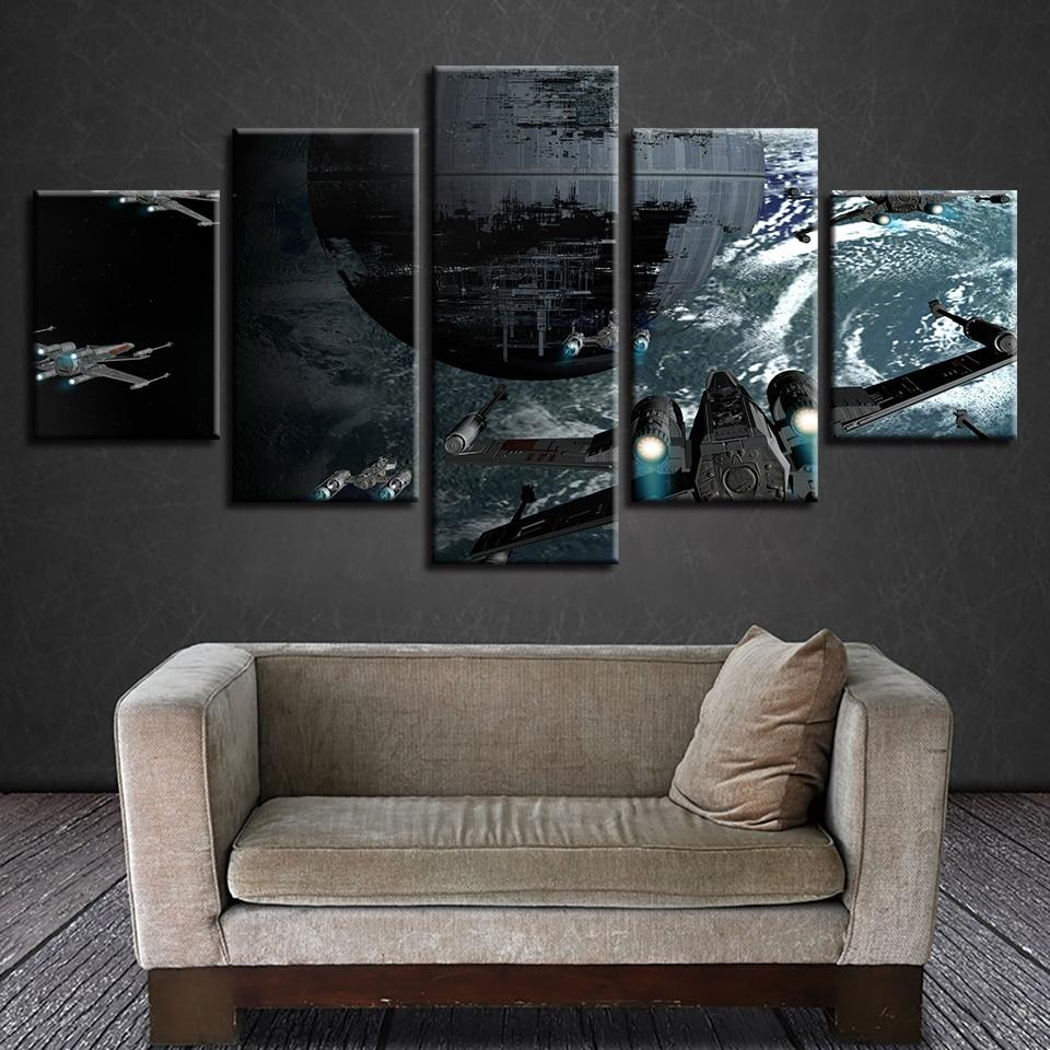 Star Wars Aircraft Canvas Wall Art
