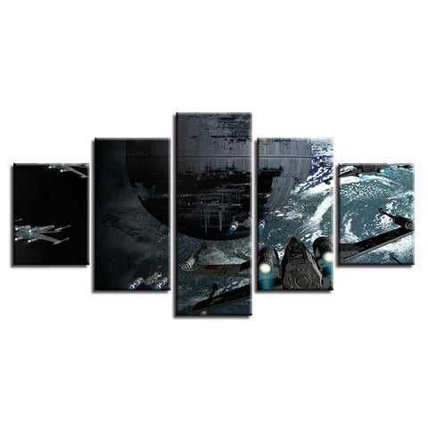 Image of Star Wars Aircraft Canvas Wall Art