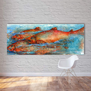 Big Fish Wall Art Painting
