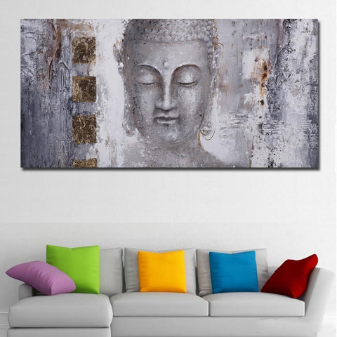 Image of Buddha Abstract Painting