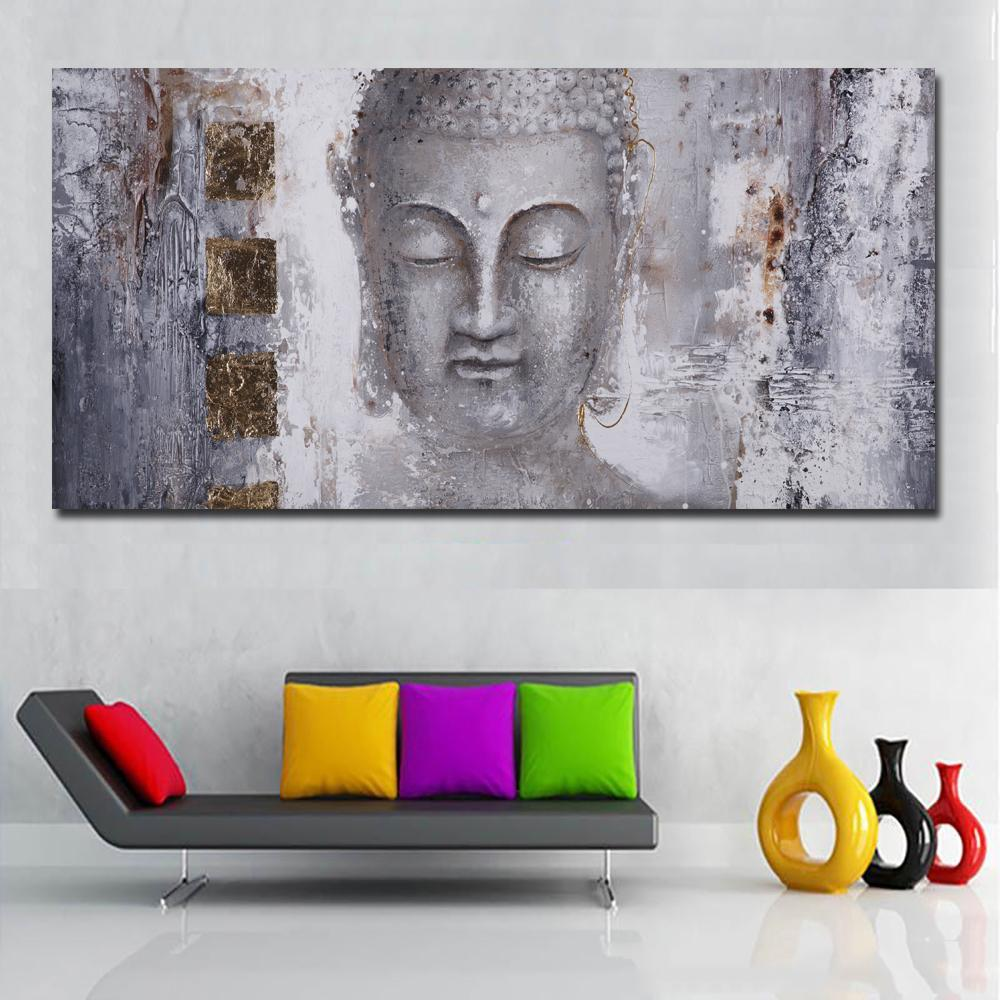Buddha Abstract Painting