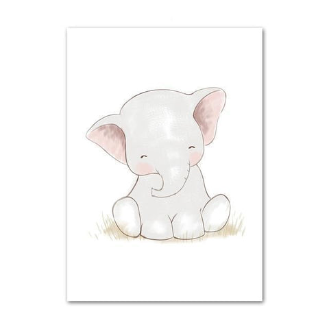 Image of Charming Baby Elephant
