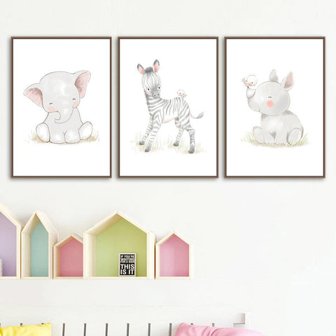 Little Rhino Wall Art